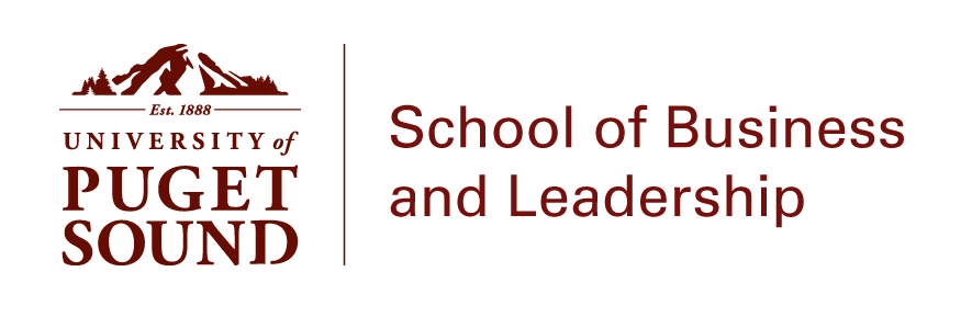 School of Business and Leadership logo lockup