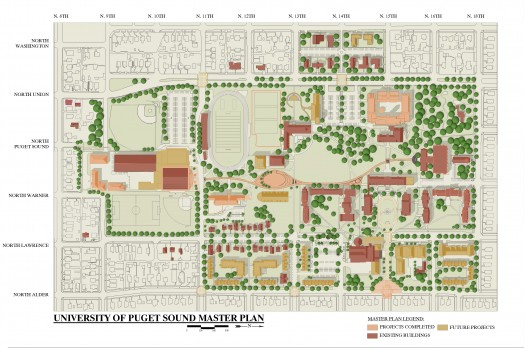 Campus Master Plan University Of Puget Sound