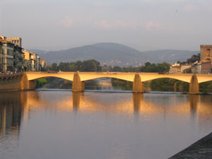 "3rd Place - Most Artistic - Alyse Cato ""Glowing Bridge"" Florence, Italy"