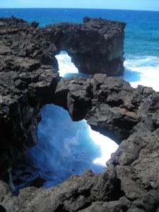 "2nd Place - Most Artistic - Andrea Gorton ""Lave Arches"" Savai'i, Samoa"