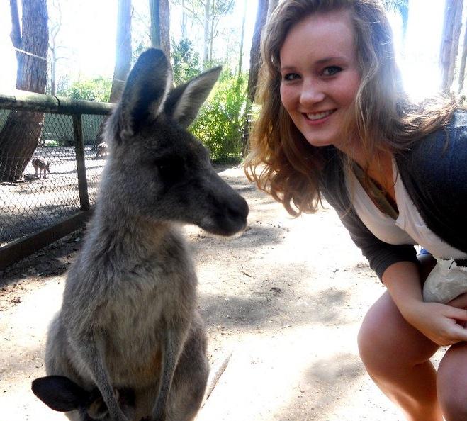 Courtesy of Anna Marie Nelson '12 (Australia)