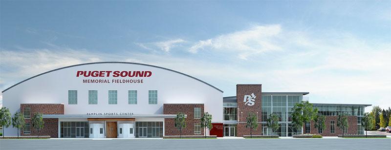 Athletics and Aquatics Center rendering