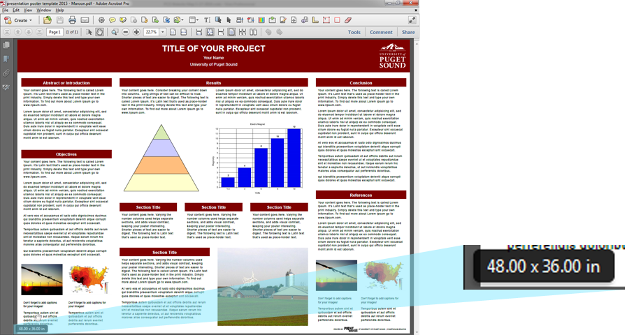 Presentation Poster Setup And Checklist University Of