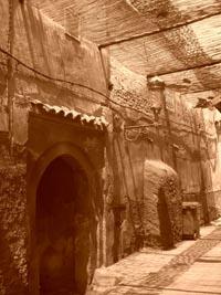 """1st Place-Places-Emilie De Wulf """"Sepia Souk"""" Marrakesh, Morocco"""