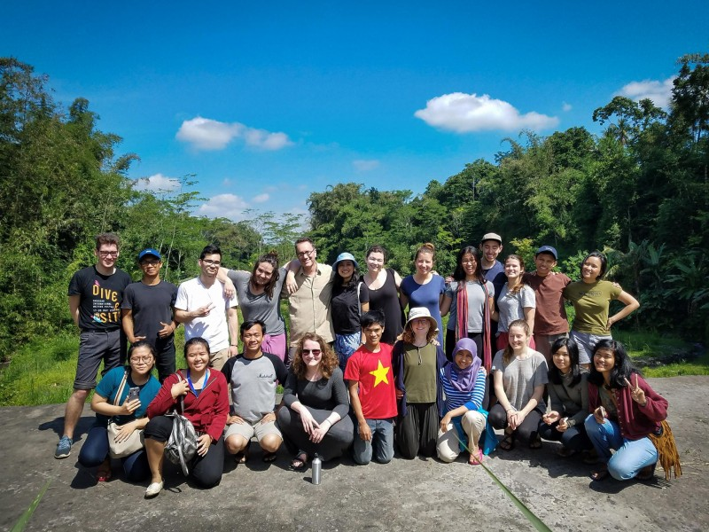 2017 LIASE field school at Dusun Sumbaran, near Mount Merapi, Indonesia