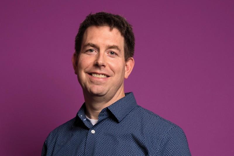 Professor of Chemistry Dan Burgard