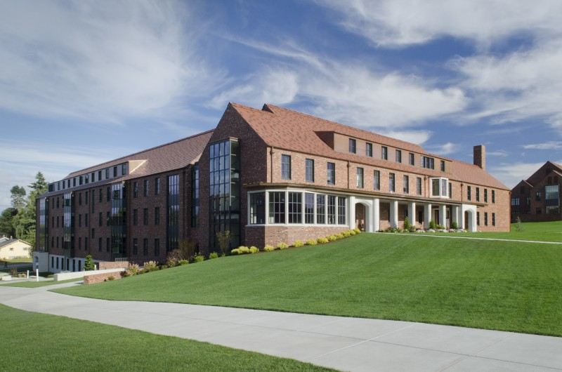 Commencement Hall: construction, improvement and equipment financed through issuance of Series 2012A Revenue and Refunding Bonds.