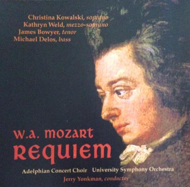 W.A. Mozart Requiem cover album