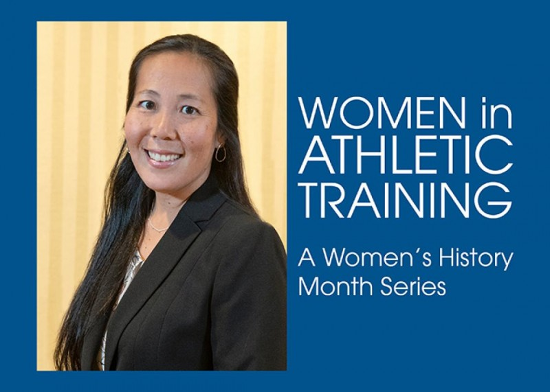 Lyn Nakagawa '00, an athletic trainer at the University of Hawai`i, was profiled in a National Athletic Trainers' Association (NATA) piece as part of a series about women in the field of athletic training.