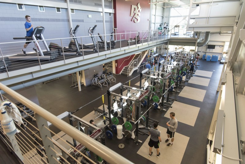 Refurbished Fitness Center