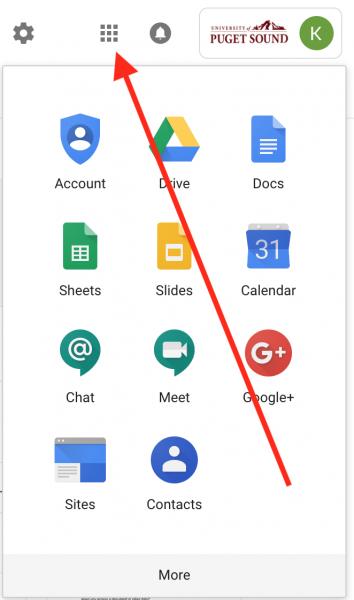 Grid view in G Suite