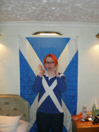 "2nd Place - UPS Students Abroad - Madeline Ganges ""Scottish Pride"" London, England"