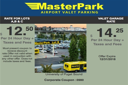 MasterPark coupon