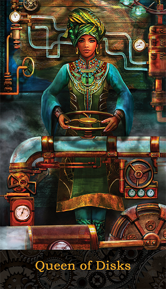 Edward Matuskey's Tarot of Brass and Steam
