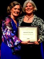 Professor Anne James Receiving her FAOTA Award