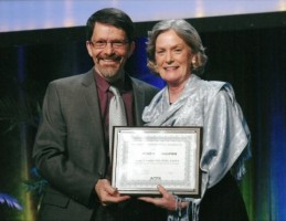 George Tomlin receiving FAOTA