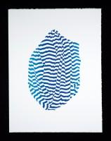 Janet Marcavage, Untitled (blue), 2014.