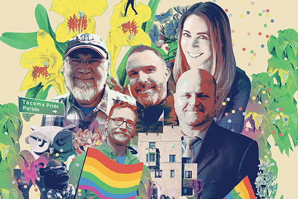 Point of Pride: How a few courageous students led a Tacoma Pride movement on campus that spread across the city