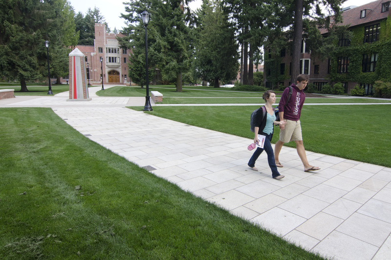 Puget Sound students on campus