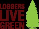 Loggers Live Green Logo