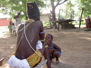 "Honorable Mention-Most Artistic- Sophie Lowenstein ""Looking up to Her"" Kodiabe, Se State, Ghana"