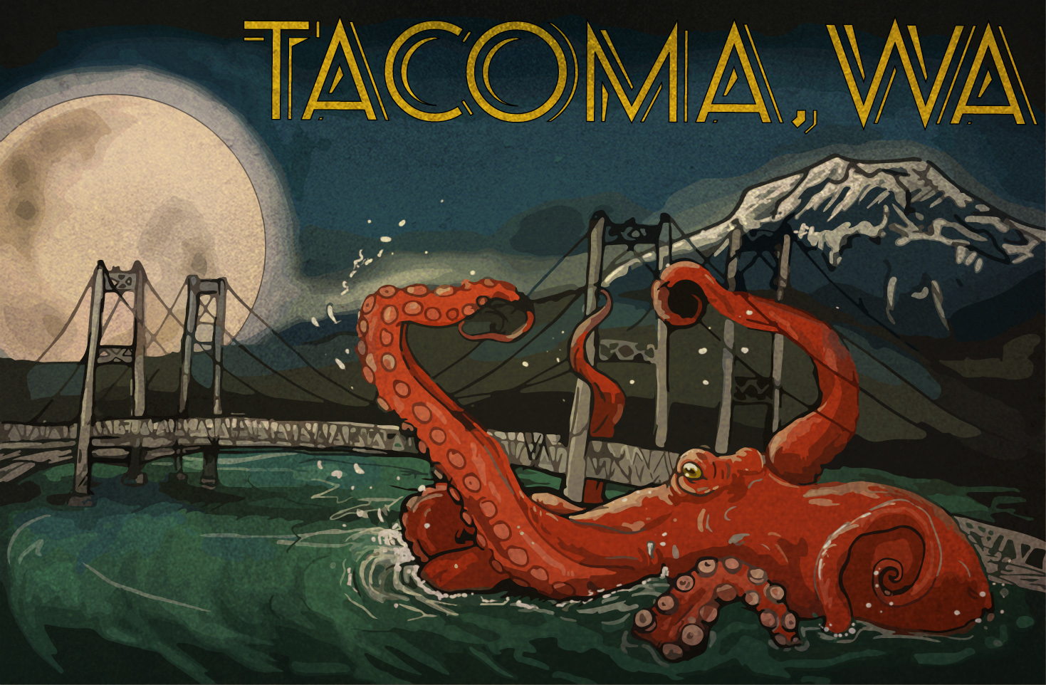 """Welcome to Tacoma"" by Dakota Harr"