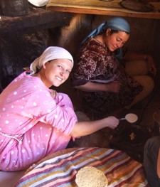 "1st Place - Puget Sound Students Abroad - Taylor Anderson ""Frying up Baghreer"" Frayat, Morocco"