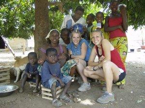 """Honorable Mention - Puget Sound Students Abroad - Tristan Burger """"Bedik Village"""" Senegal"""