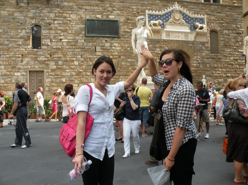 2nd Place - UPS Students Abroad - Alyssa Koida - Florence, Italy