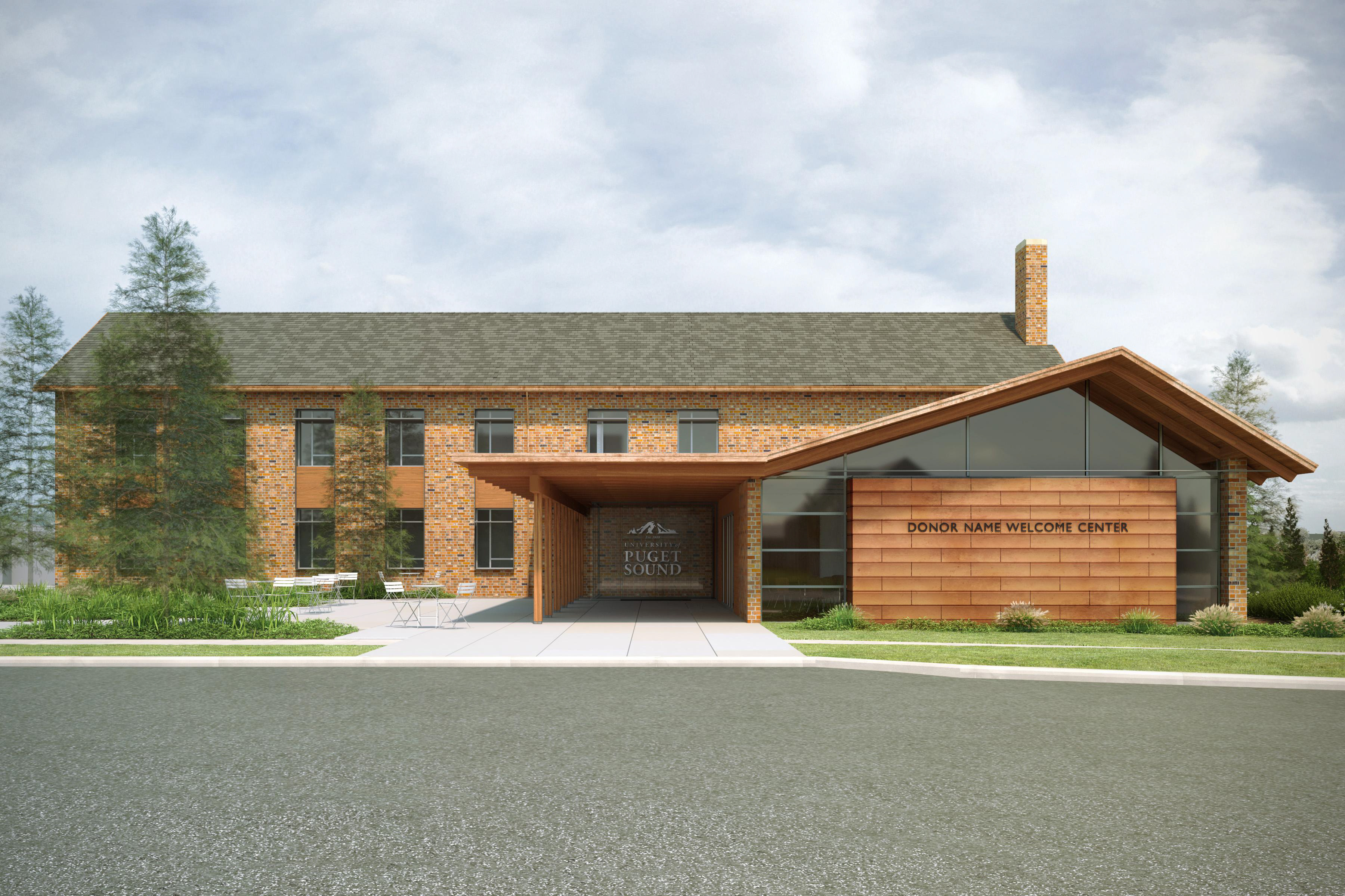 Welcome Center Rendering