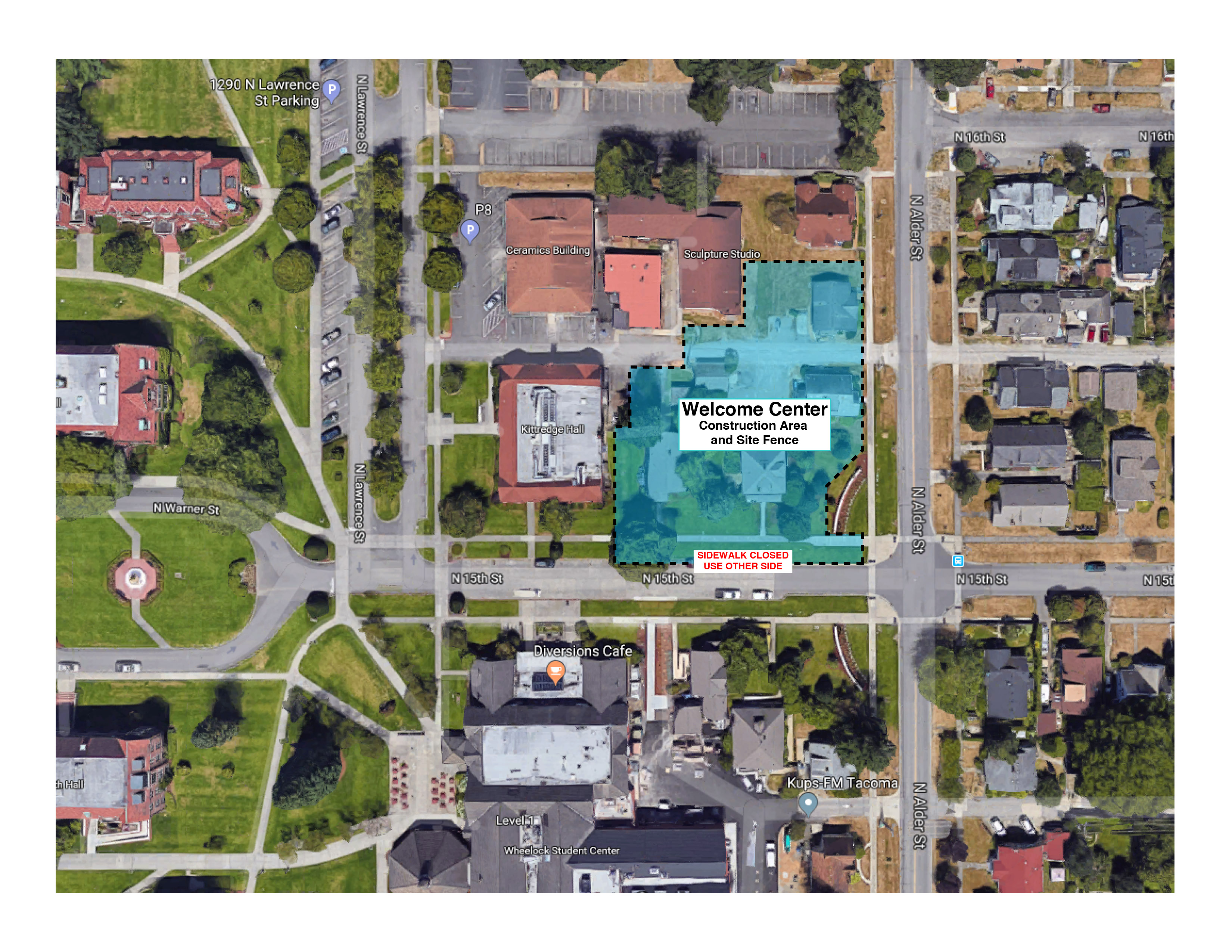 Welcome Center Site Plan