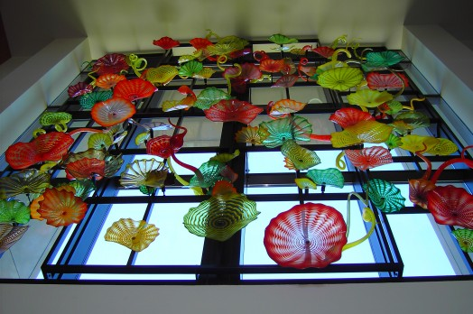 Tacoma Back Pages >> Dale Chihuly Glasswork · University of Puget Sound