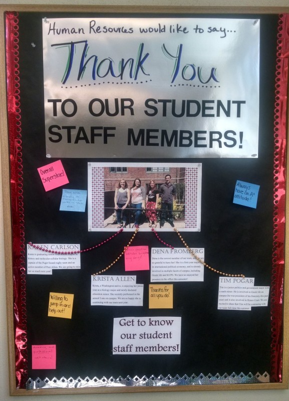 student recognition ideas  u00b7 university of puget sound