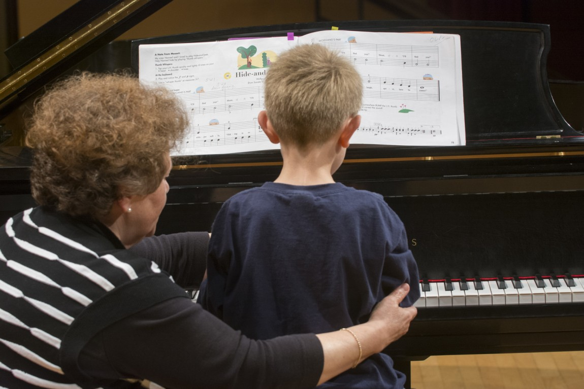 Community Music: music lessons, Kindermusik, Suzuki piano