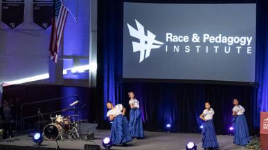 Performers at the Race and Pedagogy National Conference
