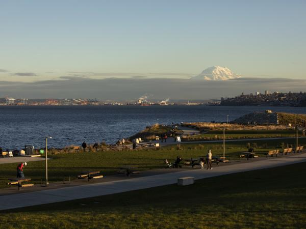 Tacoma and Mount Rainier