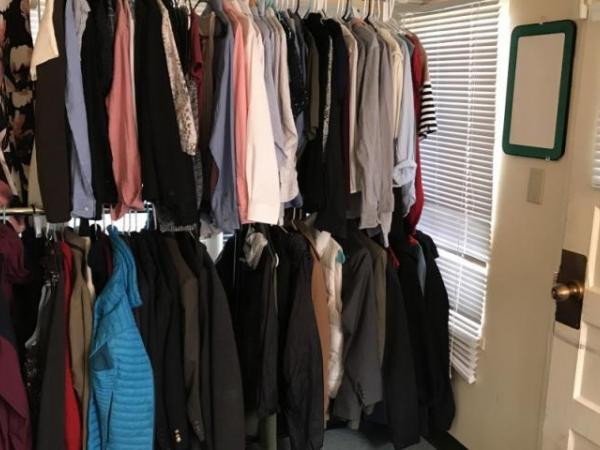 Campus clothing closet